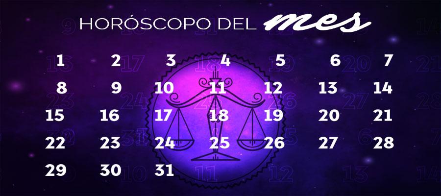 Horóscopo Libra Mensual – Horóscopo del mes Libra
