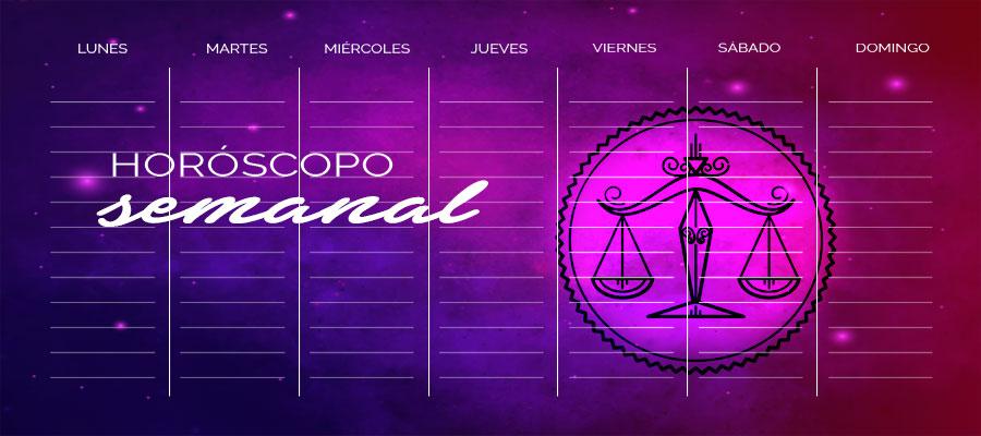 Horóscopo Libra Semanal – Horóscopo de la semana Libra
