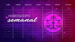 Horóscopo Semanal Libra - librahoroscopo.com